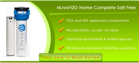 nuvoH2O Home Complete Salt-Free Water Softening System
